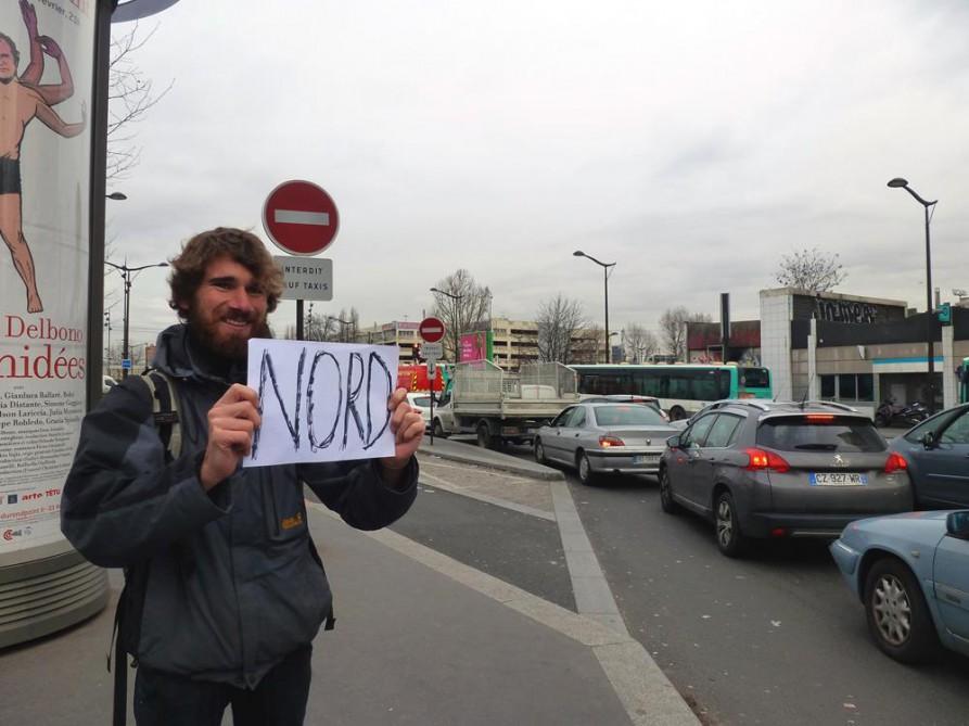 Per Anhalter durch Europa
