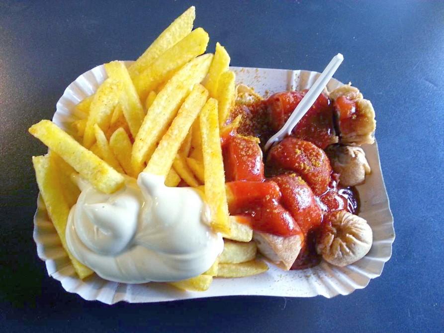 Berliner Original - die Currywurst