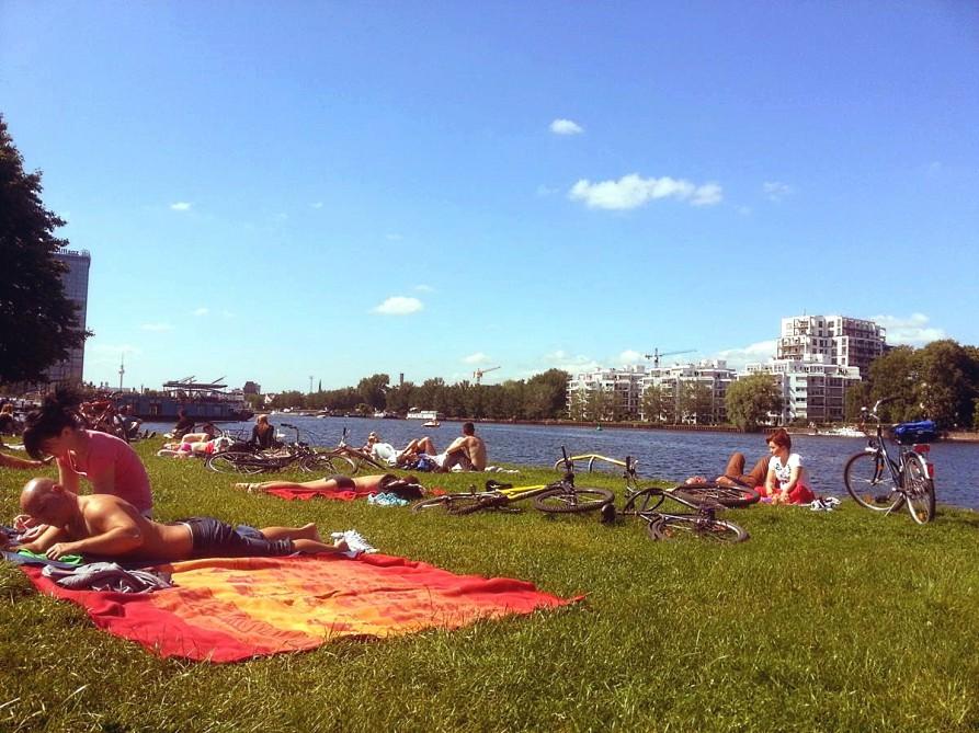 Spreeufer Treptower Park, Berlin