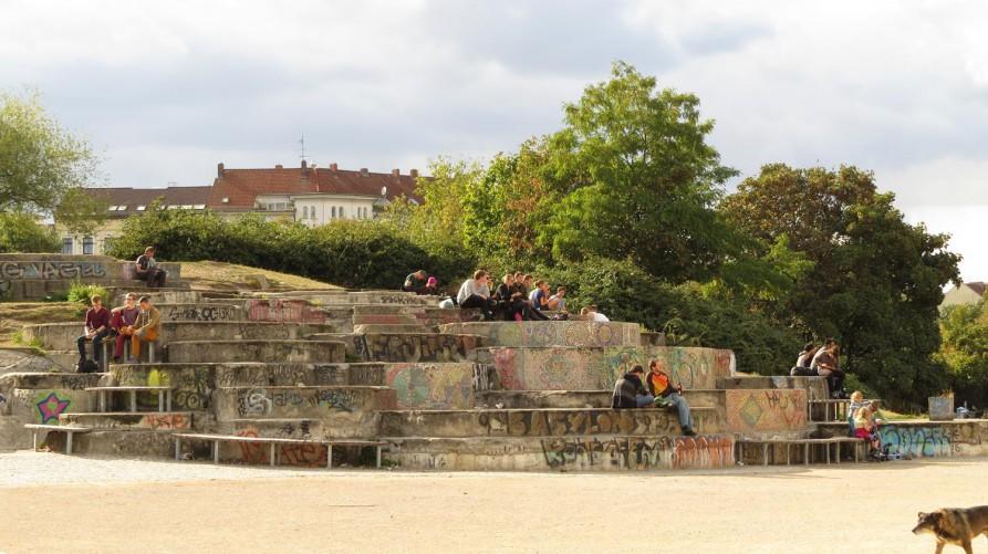 Görlitzer Park, Kreuzberg, Berlin