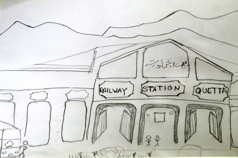 Bahnhof, Quetta