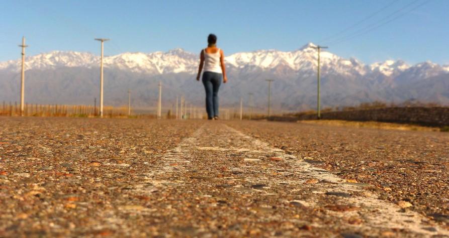 Straße in Argentinien