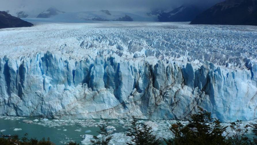 Perito Merono Gletscher, Argentinien