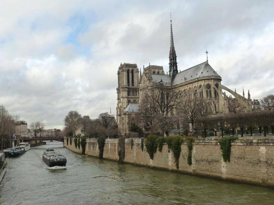 Notre Dame und die Seine, Paris