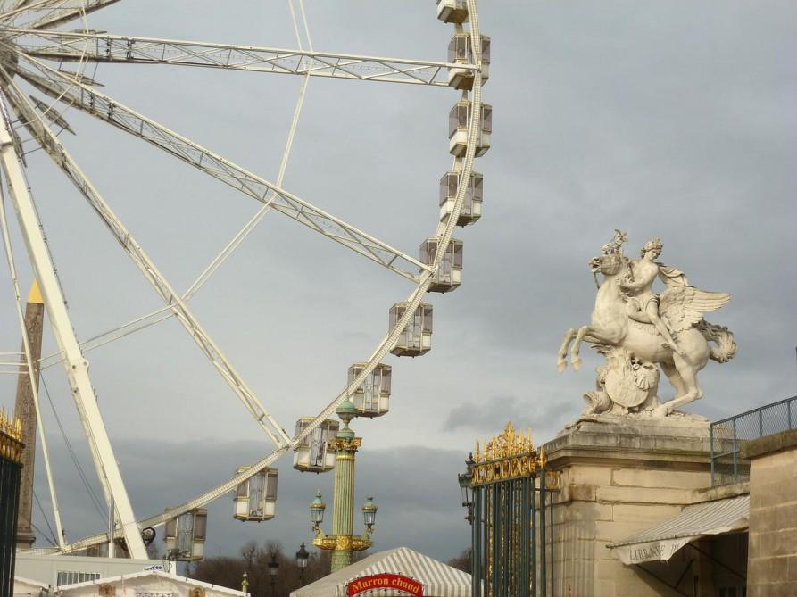 Roue de Paris - Riesenrad auf der Place de la Concorde