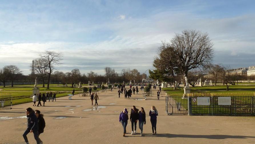 Tuilerien-Garten, Paris