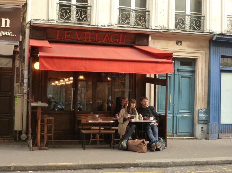 Café in Montmartre, Paris