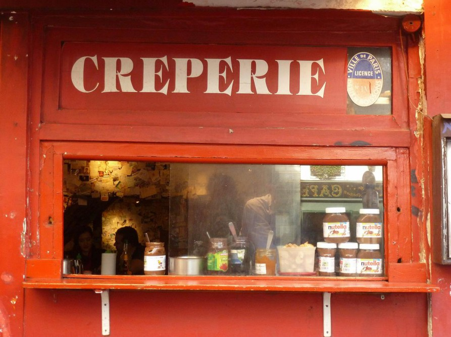 Crêperie in Montmartre, Paris