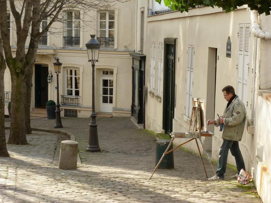 Künstler in Montmartre - Paris