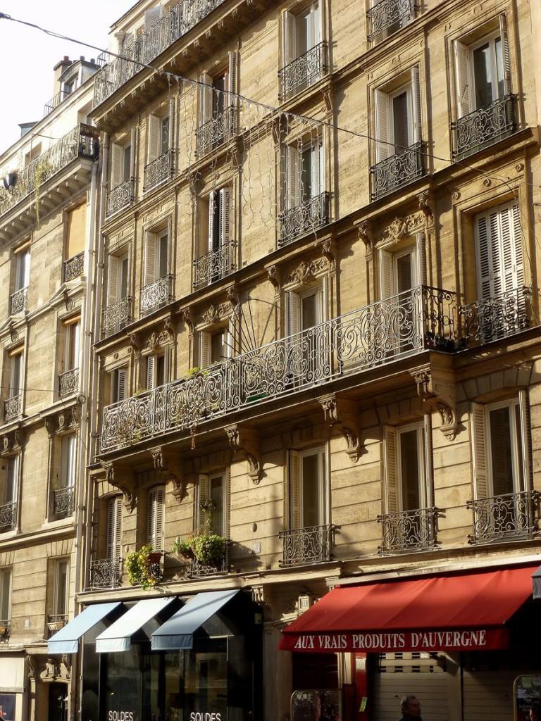 Haus aus der Jahrhundertwende, Paris