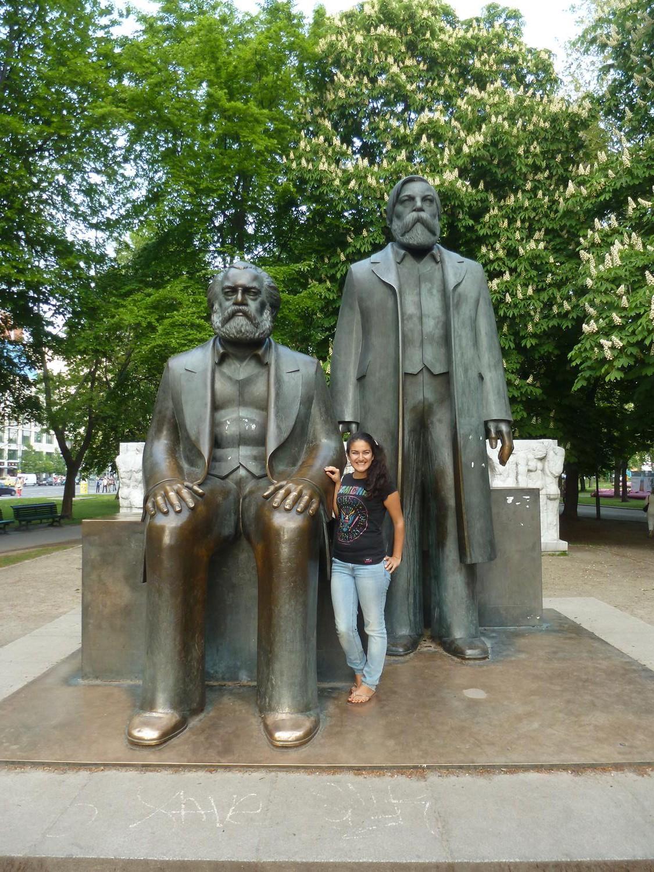 Marx und Engels in Berlin-Mitte