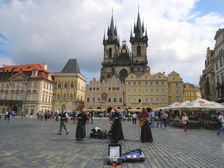 Teynkirche auf dem Altstädter Ring