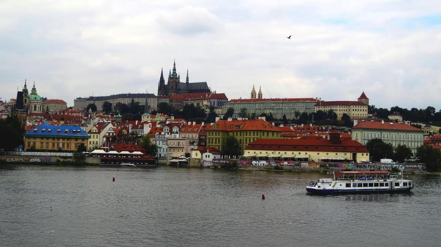Kleinsteiner Ufer, Prag