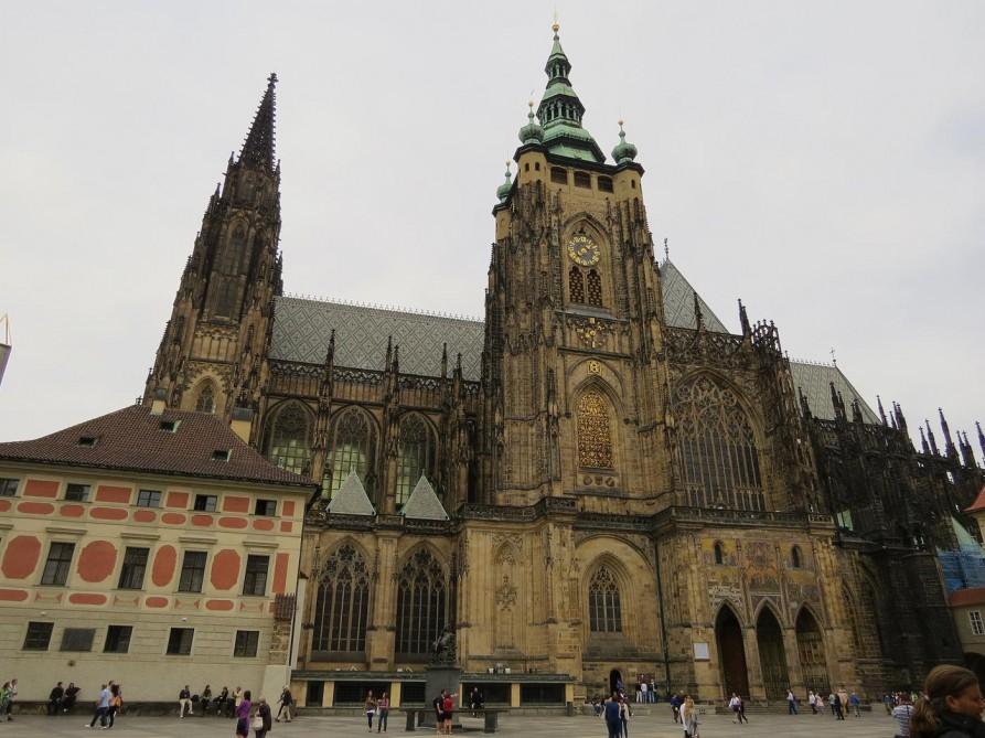 Veitsdom in der Prager Burg