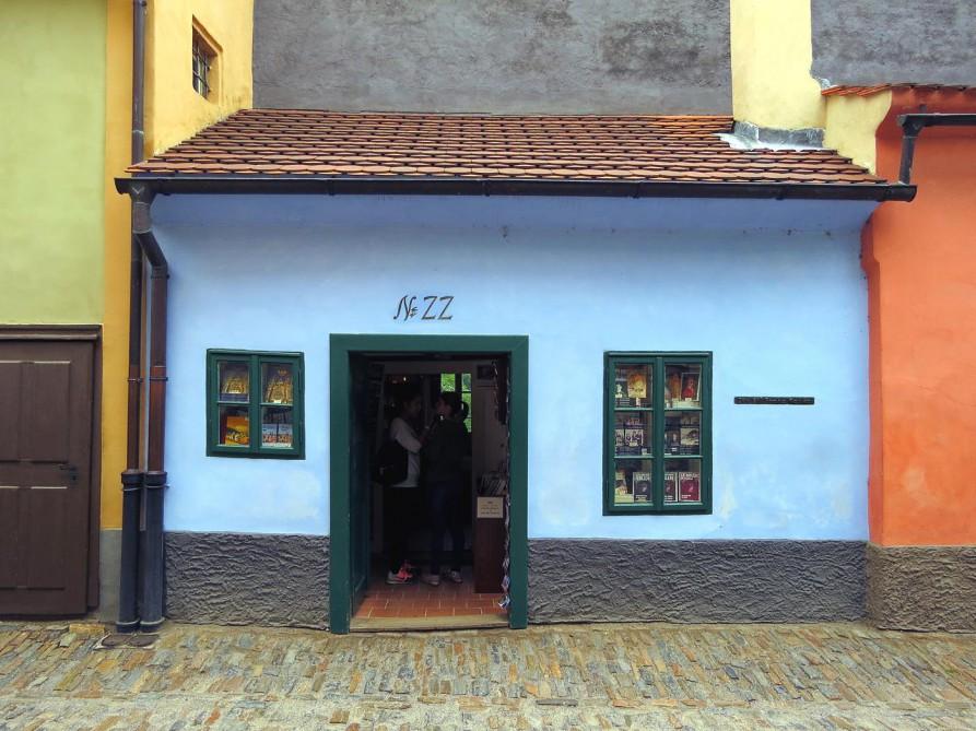 Kafkas Haus in Prag