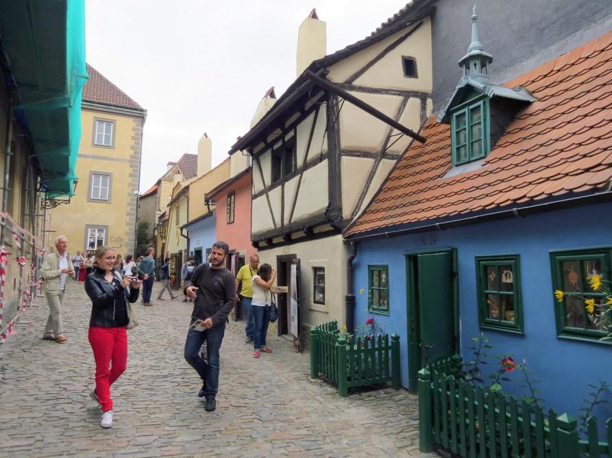 goldene Straße in Prag