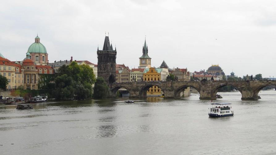 Karlsbrücke, Prag, Tschechische Republik