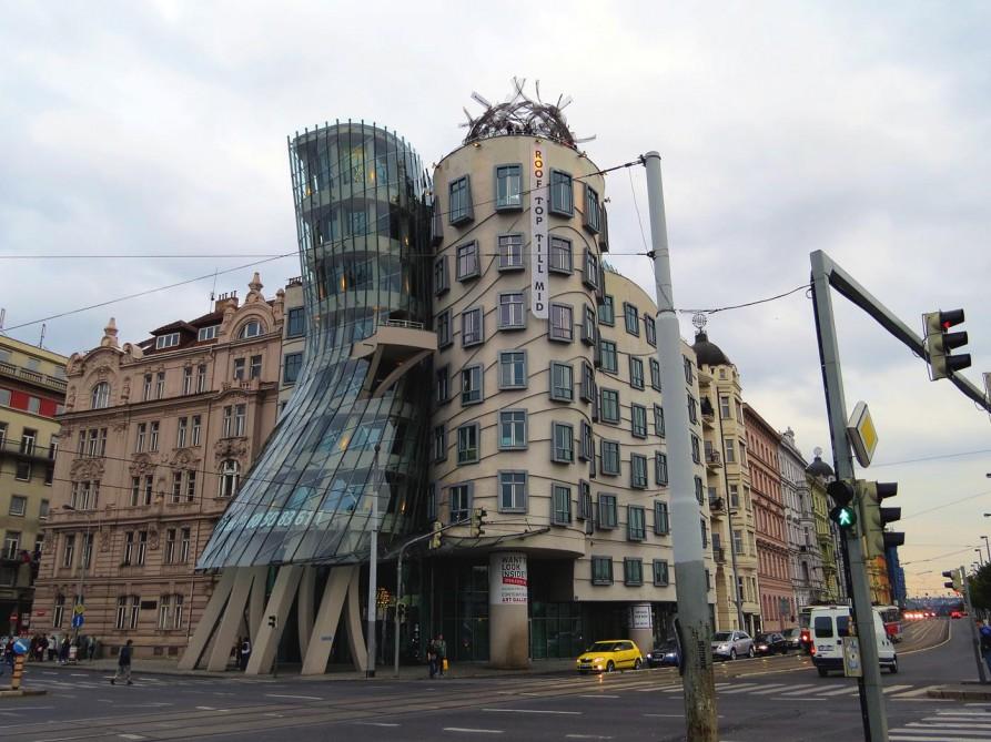 tanzende Häuser, Prag, Tschechische Republik