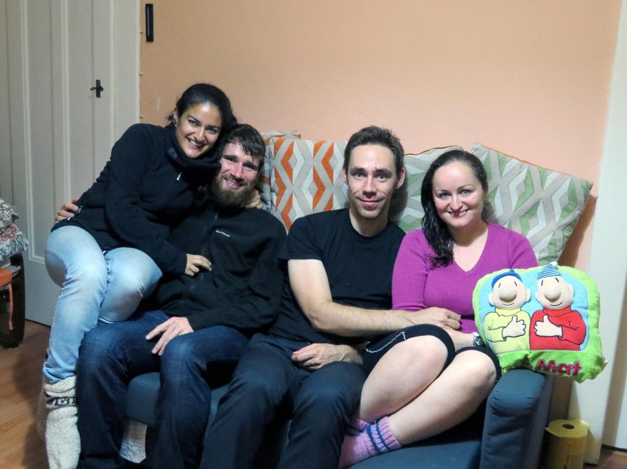 Couchsurfing in Prag