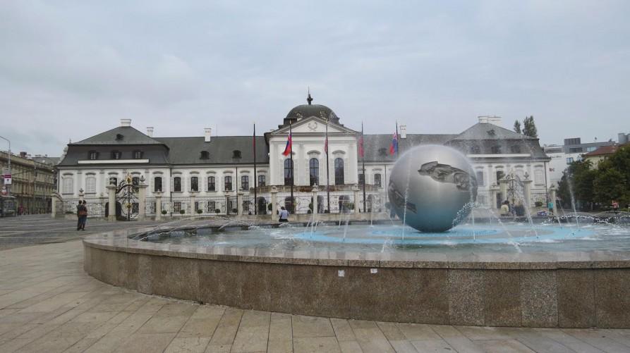 Palais Grassalkovich, Bratislava, Slowakei
