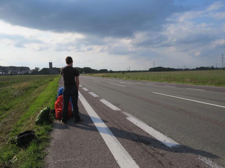 trampen in der Slowakei