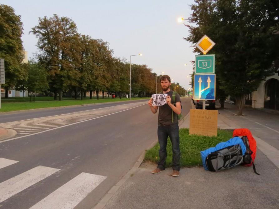 Per Anhalter in Ungarn