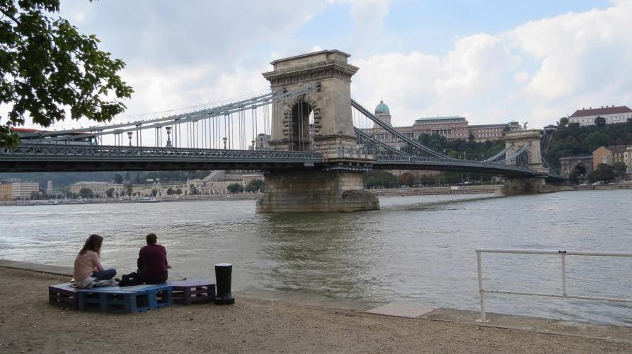 Kettenbrücke, Budapest, Ungarn