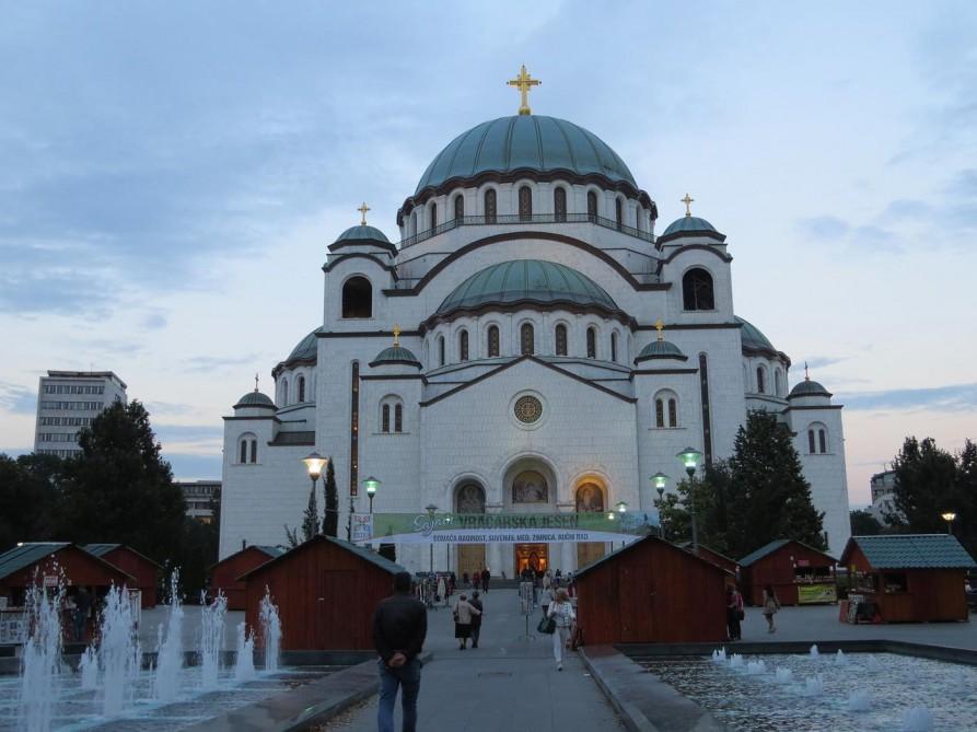 Dom des Heiligen Sava, Belgrad, Serbien