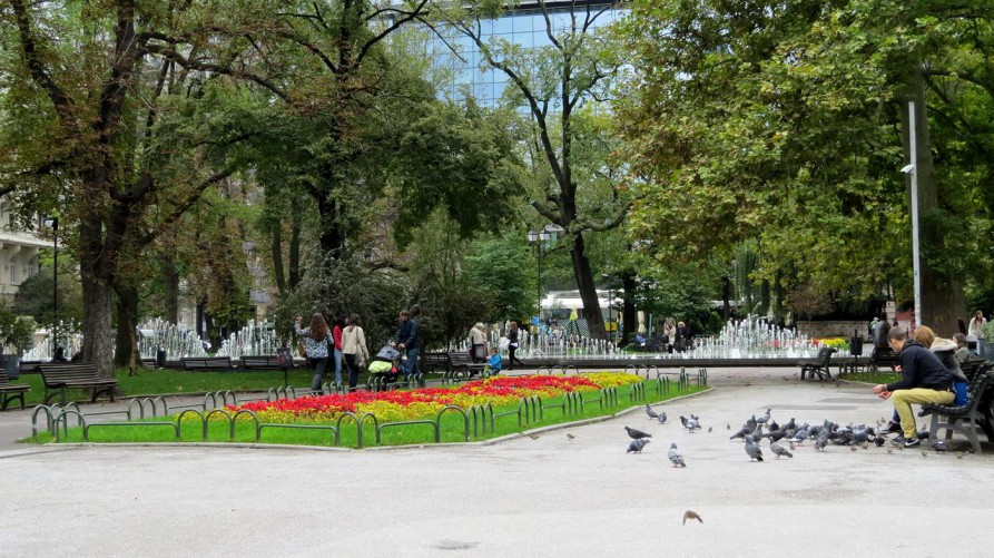 """""""Gradska"""" Gradina, Park"""
