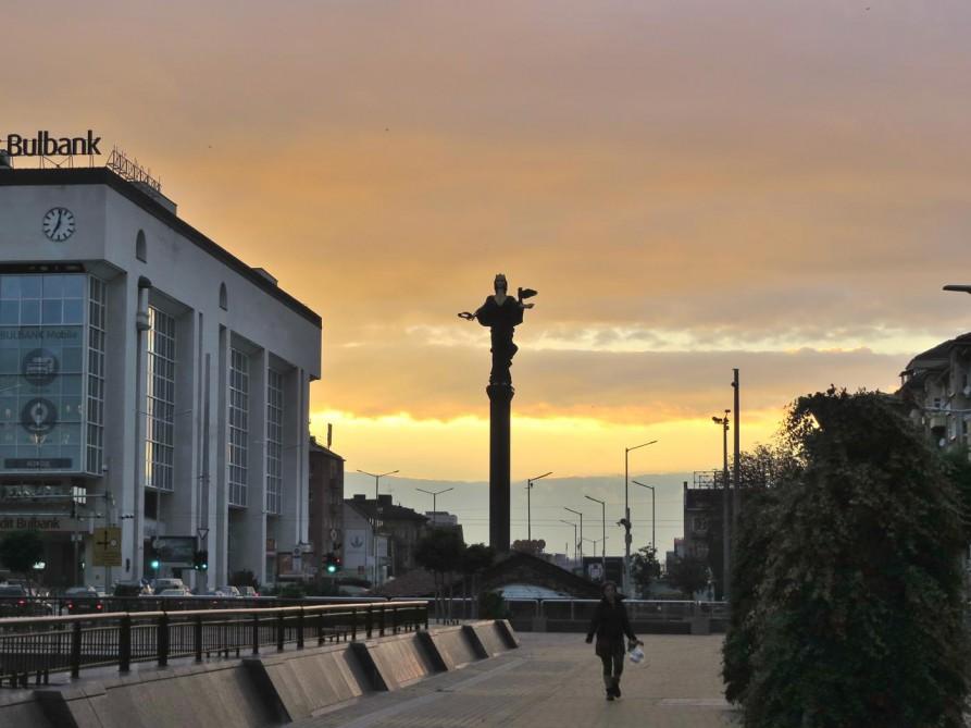 Statue der heiligen Sofia