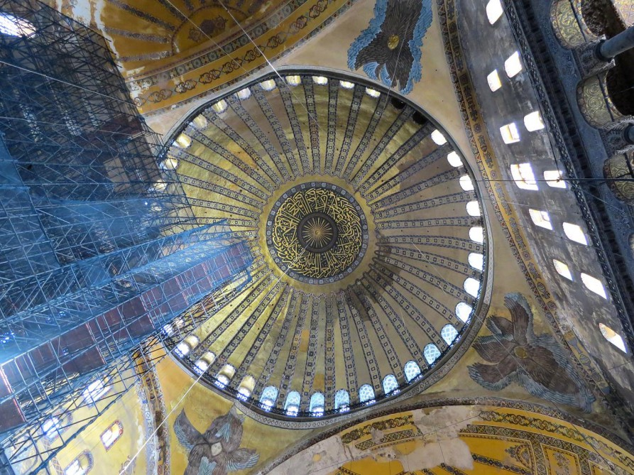 byzantinische Kuppel, Hagia Sofia, Istanbul