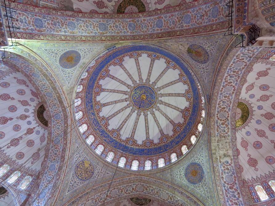 Kuppel, Blaue Moschee, Istanbul