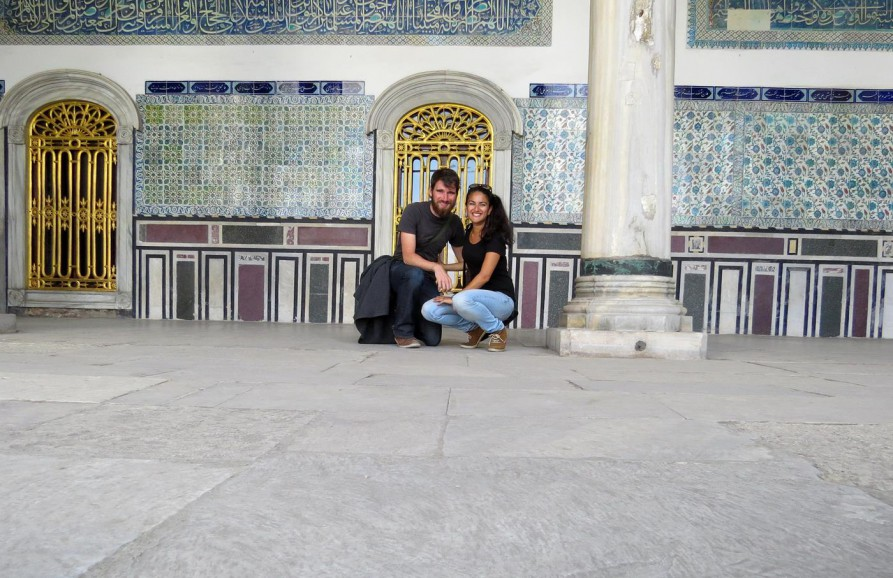Topkapi-Palast, Sultanahmet, Istanbul