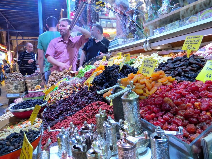 Trockenfrüchte, Gewürzmarkt, Istanbul