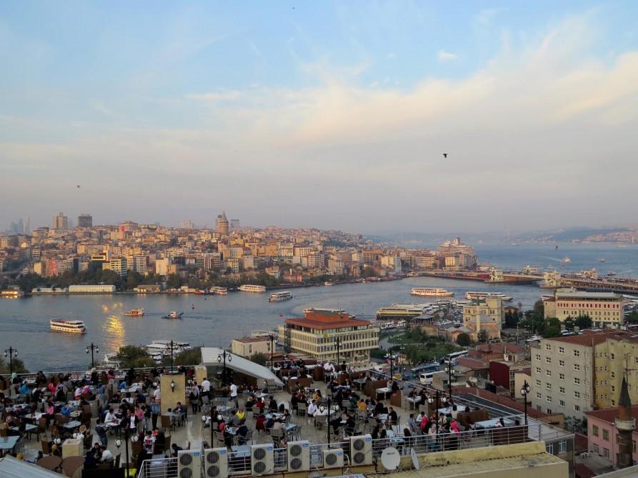 Dachterrasse, Istanbul