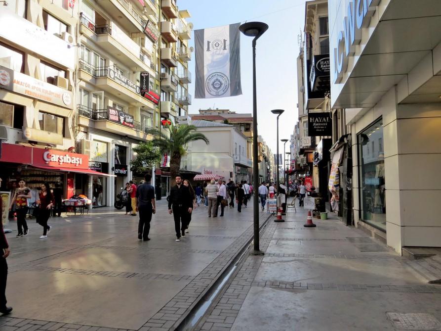 in den Straßen von Alsancak, Izmir