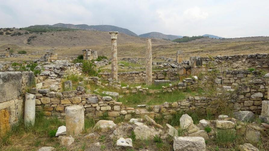 Ruinen in Pamukkale
