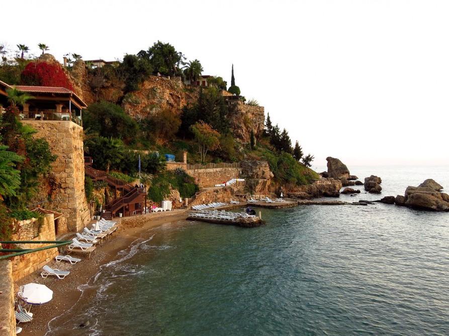 historischer Hafen, Antalya