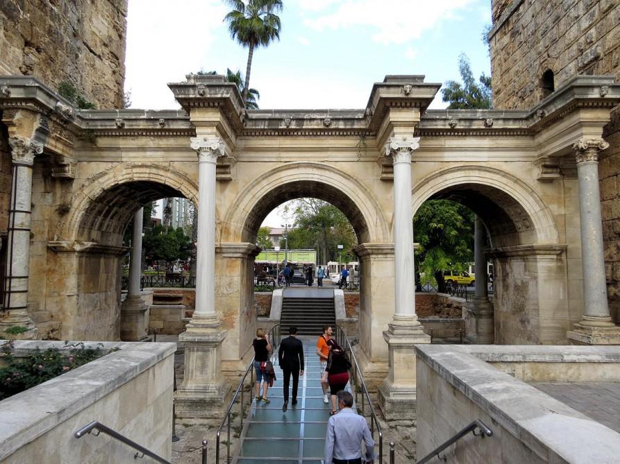 Hadrianstor, Altstadt Kaleiçi, Antalya