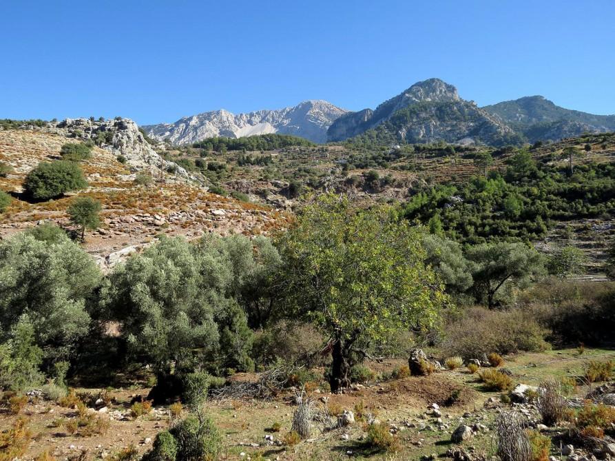 schroffe Natur im Taurusgebirge