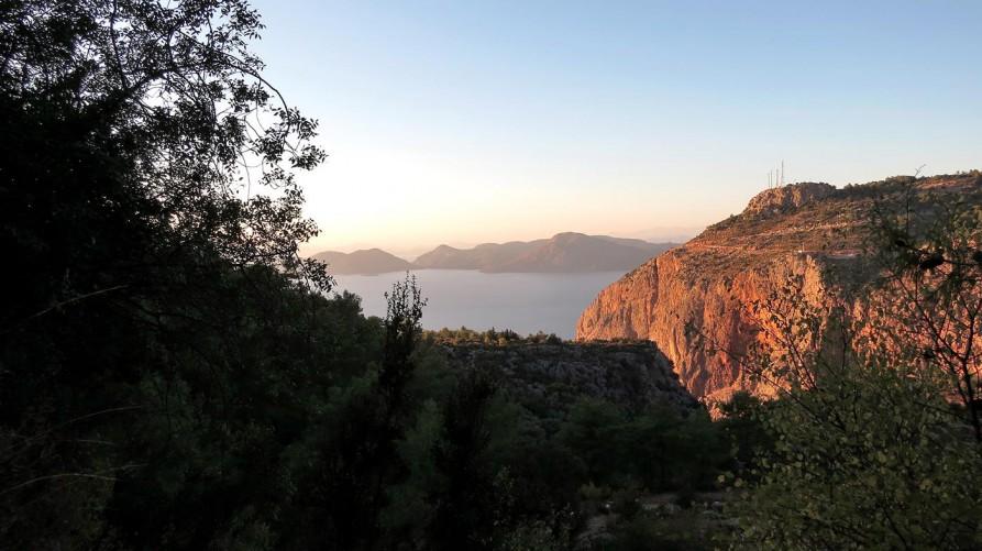 Abendstimmung über dem Mittelmeer