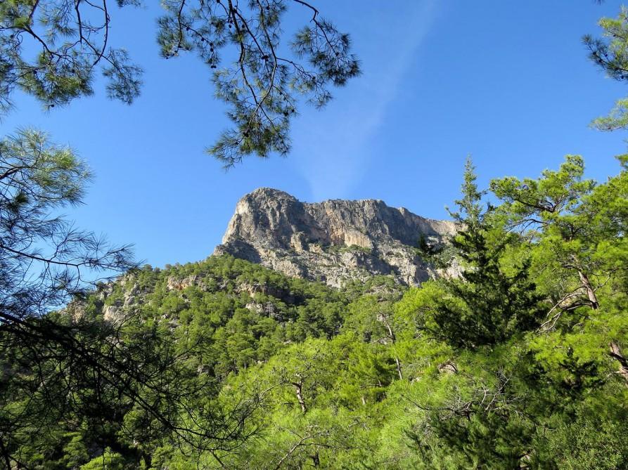 Blick aufs Taurusgebirge