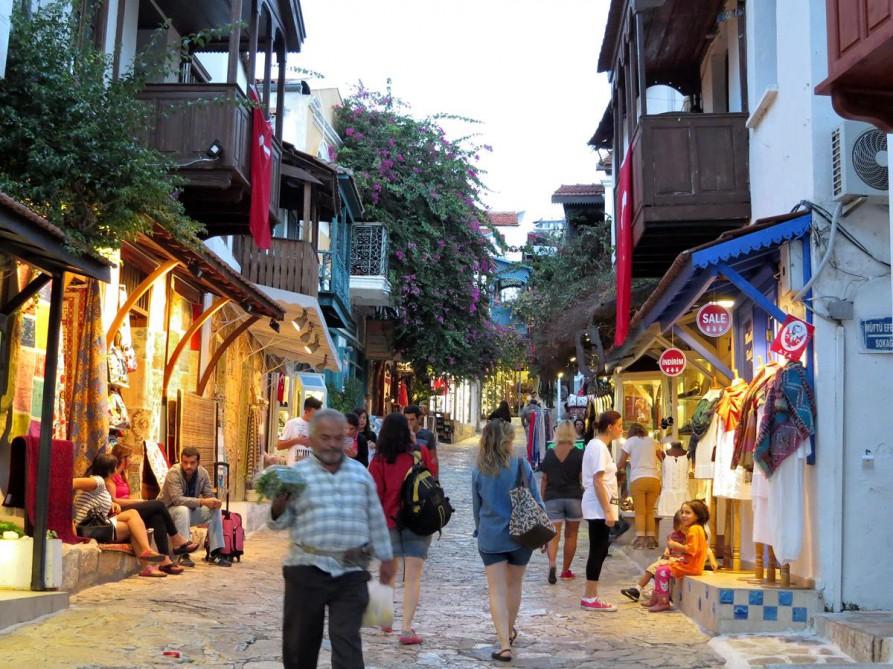 griechische Gassen von Kaş