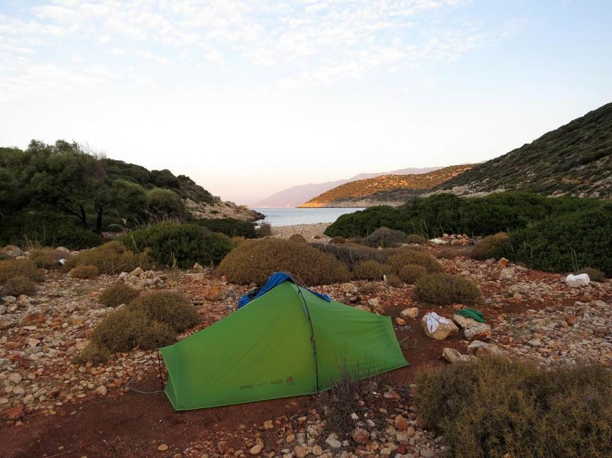 4. Zeltplatz am Mittelmeer, der Lykische Weg, Türkei