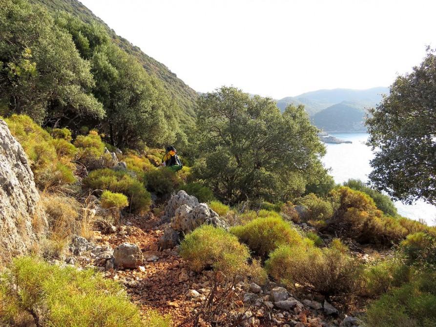uriger Wanderweg, der Lykische Weg, Türkei