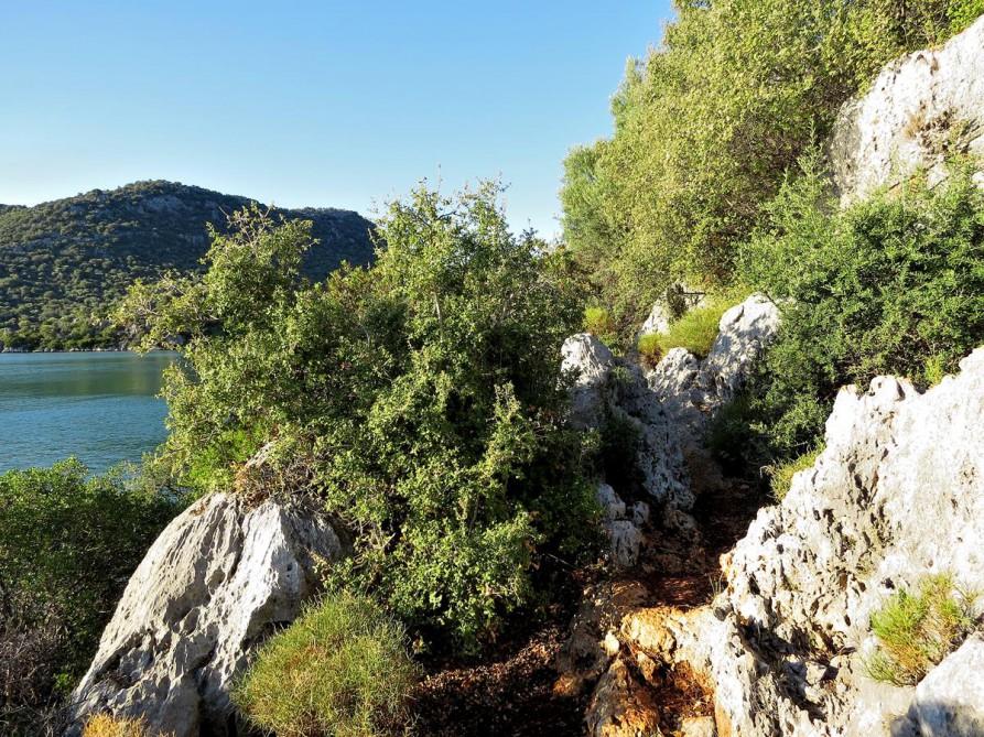 steinig, verwinkelt und wunderschön, der Lykische Weg, Türkei