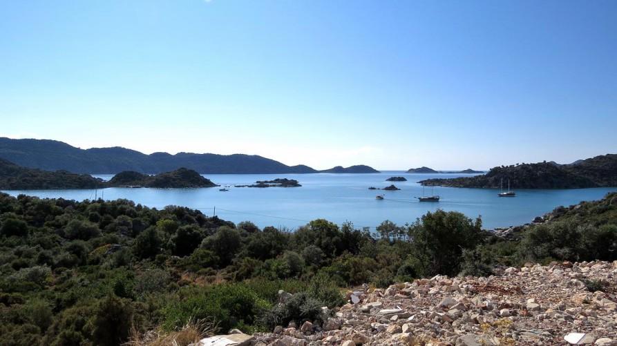 Mittelmeer, der Lykische Weg, Türkei