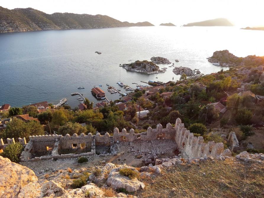Aussicht über Kaleköy