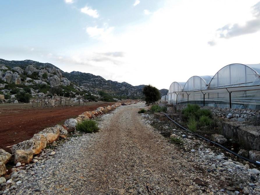 kurz hinter Kaleköy, der Lykische Weg, Türkei