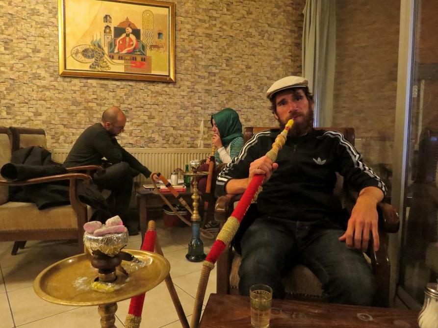 Wasserpfeifen-Café in Konya